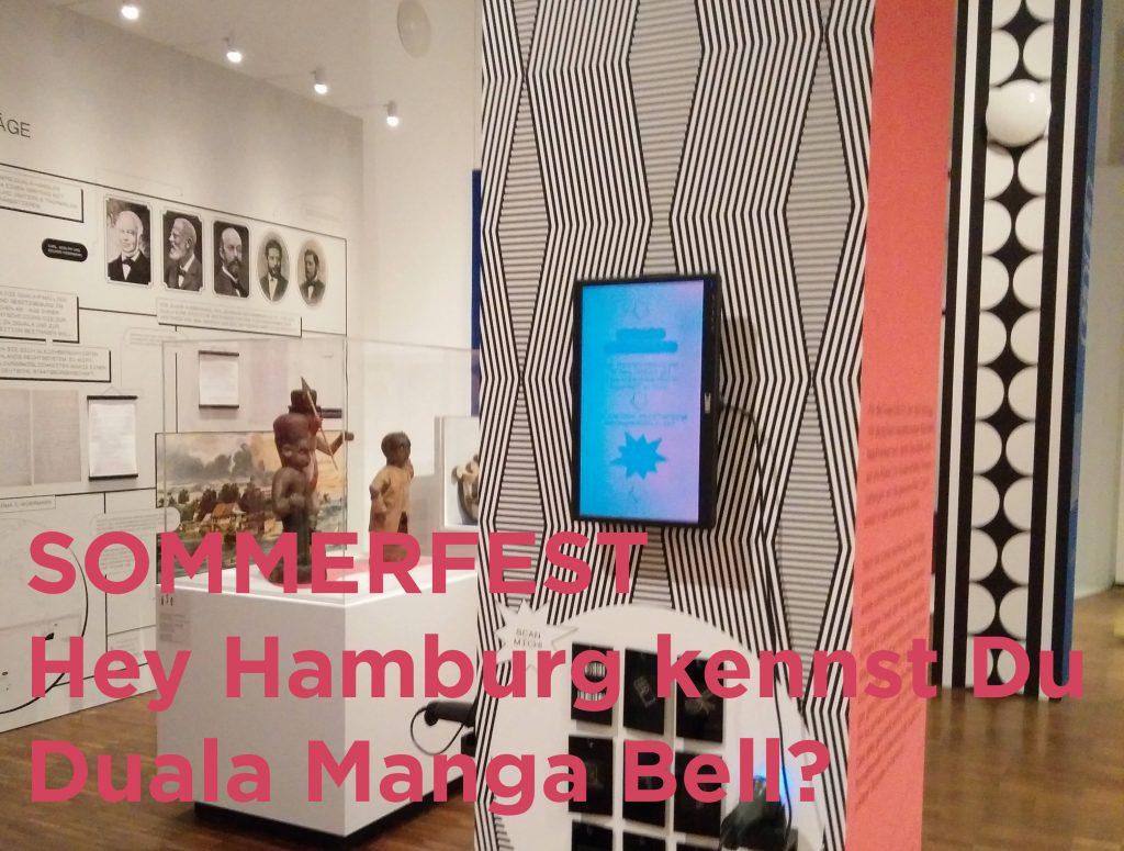 Fr, 13./Sa. 14./So. 15. Aug: Duala Manga Bell Sommerfest